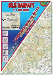 Obrázok Bílé Karpaty Šátek s mapou