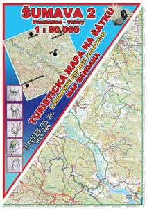 Obrázok Šumava 2 Prachatice - Volary Šátek s mapou