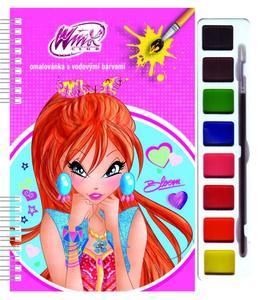 Obrázok Omalovánky s barvami Winx Club