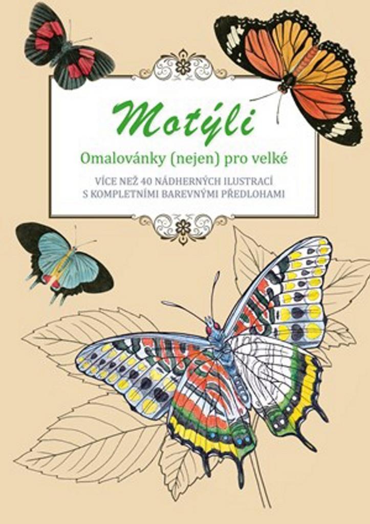 Motýli omalovánky (nejen) pro velké - Peter Lindmark