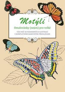 Obrázok Motýli omalovánky (nejen) pro velké