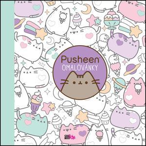 Obrázok Pusheen omalovánky