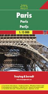 Obrázok Plán města Paříž 1 :13 000