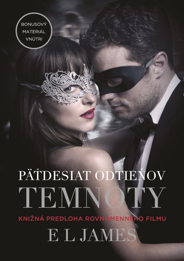 Päťdesiat odtieňov temnoty (Fifty Shades Darker) - E L James
