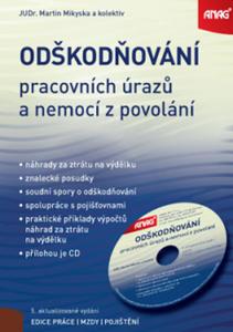 Obrázok Odškodňování pracovních úrazů a nemocí z povolání + CD