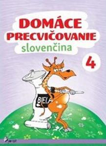 Obrázok Domáce precvičovanie Slovenčina 4