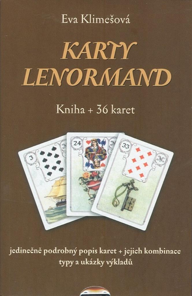Karty Lenormand - Eva Klimešová