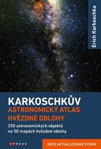 Obrázok Karkoschkův astronomický atlas hvězdné oblohy
