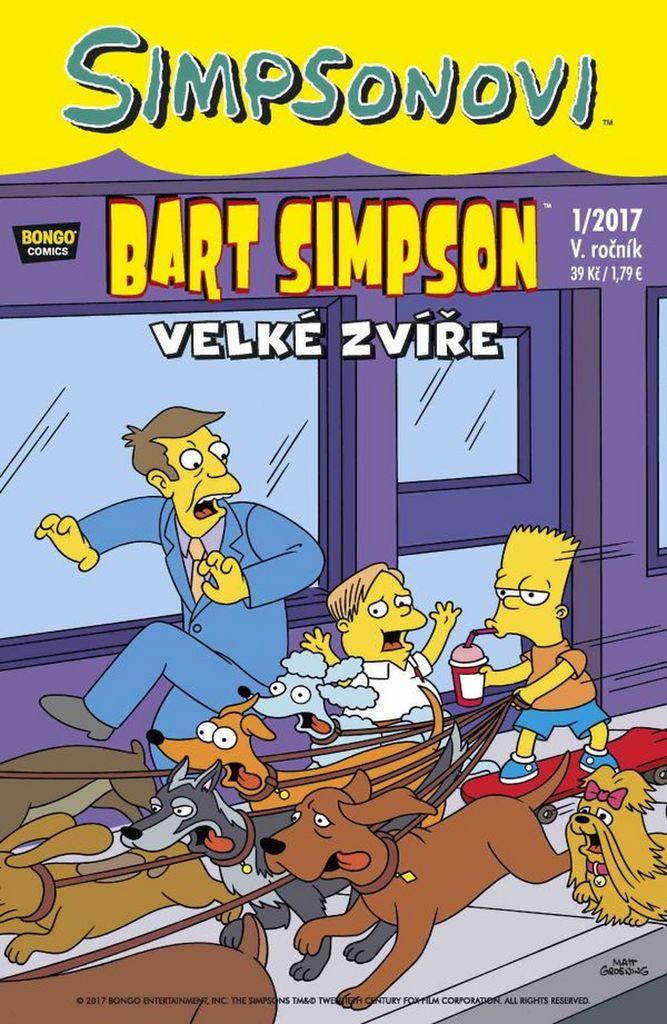 Bart Simpson Velké zvíře
