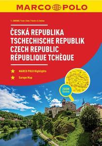 Obrázok Autoatlas Česká republika 1:200 000