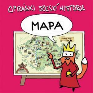 Obrázok Mapa Opráski sčeskí historje