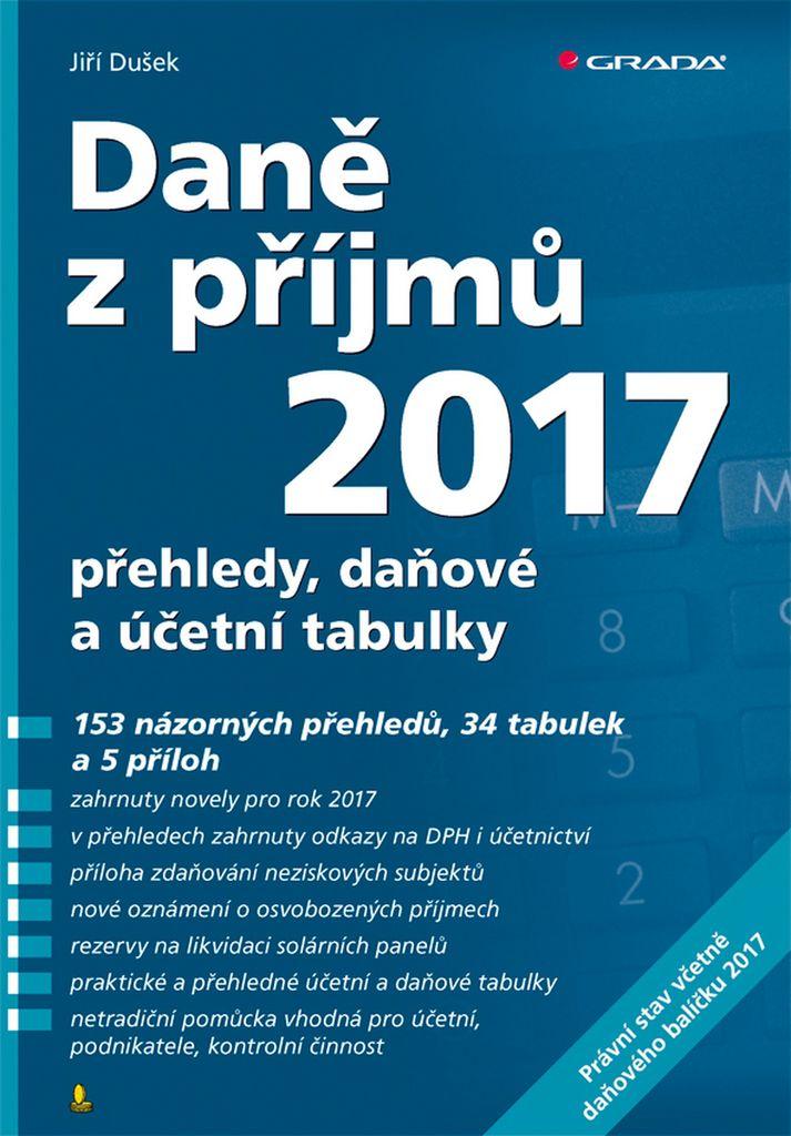 Daně z příjmů 2017 - Jiří Dušek