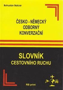 Obrázok Česko-německý odborný konverzační slovník