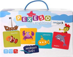 Obrázok Pexeso s angličtinou Mořský svět