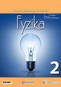 Obrázok Fyzika Pracovný zošit pre 8. ročník 2
