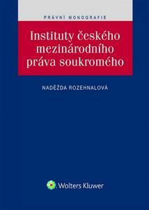 Obrázok Instituty českého mezinárodního práva soukromého