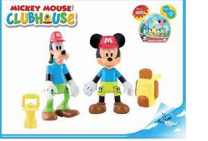 Obrázok Mickey Mouse a Goofy figurky badatelů kloubové 8cm