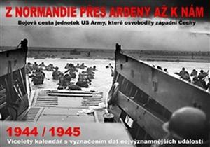 Obrázok Kalendář Z Normandie přes Ardeny až k nám 1944/1945