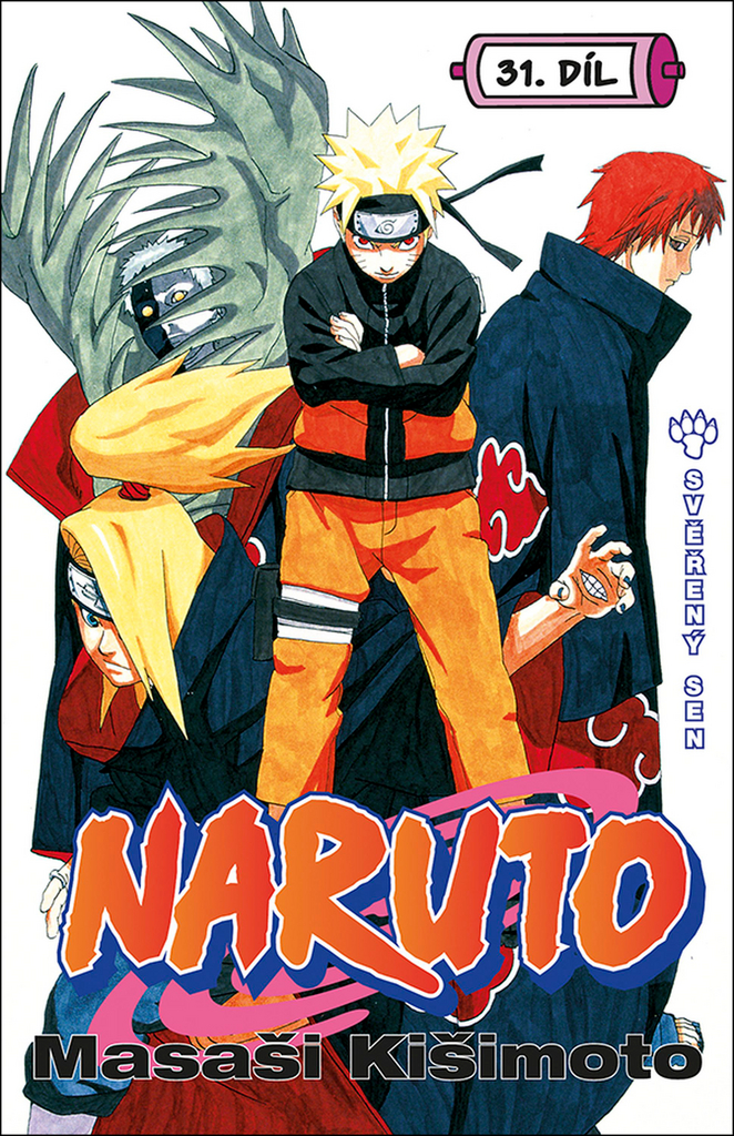 Naruto 31 Svěřený sen - Masaši Kišimoto