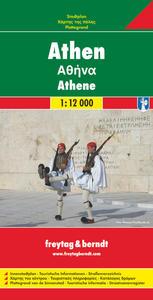 Obrázok Athény Plán města 1 : 12 000