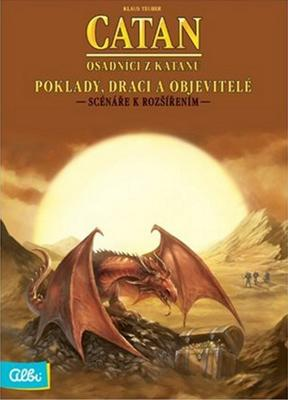 Obrázok Catan - Poklady, draci a objev