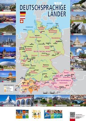 Obrázok Deutschprachige Länder Mapa
