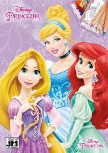 Obrázok Disney Princezna omalovánka