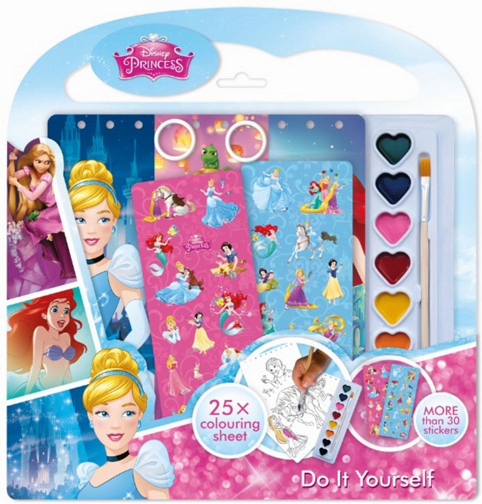 Vytvoř si svůj blok Disney Princezny