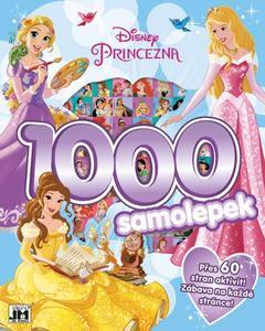 Obrázok 1000 samolepek Disney Princezna