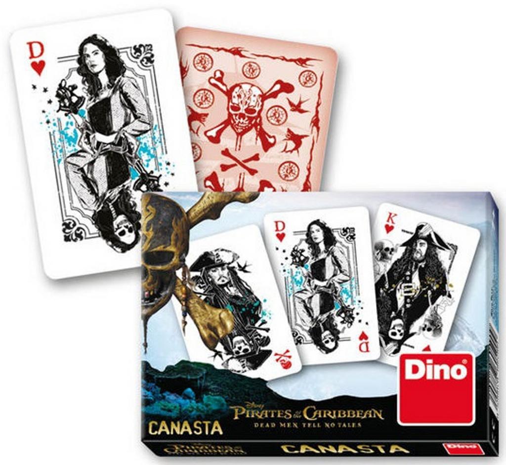 Karty Canasta Piráti z Karibiku 5