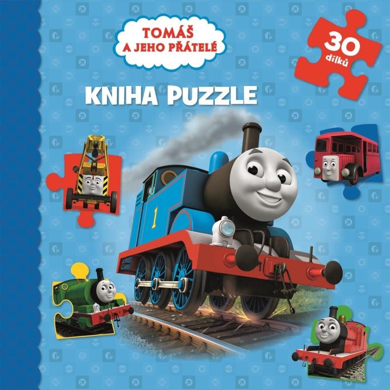 Tomáš a jeho přátelé Kniha puzzle 30 dílků