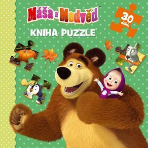 Obrázok Máša a Medvěd Kniha puzzle 30 dílků
