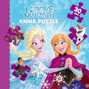 Obrázok Ledové království Kniha puzzle 30 dílků
