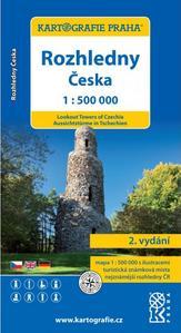 Obrázok Rozhledny Česka 1:500000