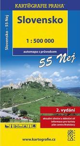 Obrázok Slovensko 55 Nej 1:500 000