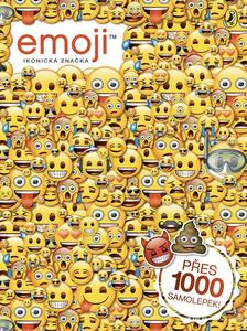 Obrázok Emoji oficiální kniha samolepek