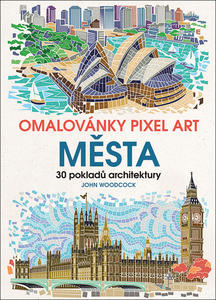 Obrázok Omalovánky Pixel Art Města