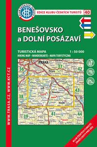 Obrázok KČT 40 Benešovsko a Dolní Posázaví 1:50 000