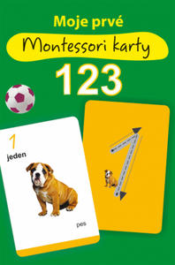 Obrázok Moje prvé Montessori karty 123