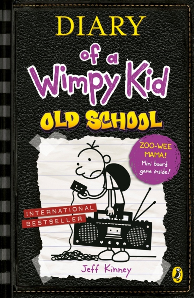 Diary of a Wimpy Kid, Old school book 10 new ed. - Jeff Kinney