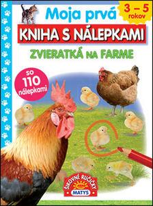 Obrázok Moja prvá kniha s nálepkami Zvieratká na farme