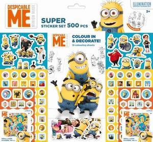 Obrázok Super sticker set 500 ks Mimoni