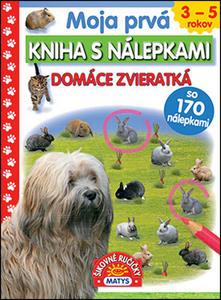 Obrázok Moja prvá kniha s nálepkami Domáce zvieratká
