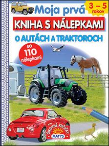 Obrázok Moja prvá kniha s nálepkami O autách a traktoroch