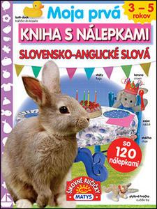 Obrázok Moja prvá kniha s nálepkami Slovensko-anglické slová
