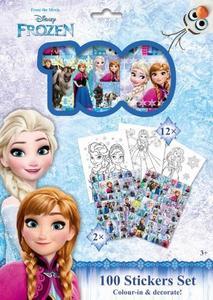 Obrázok 100 Stickers Set Ledové království