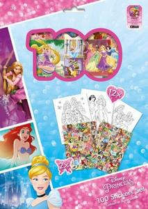 Obrázok 100 Stickers Set Princezny