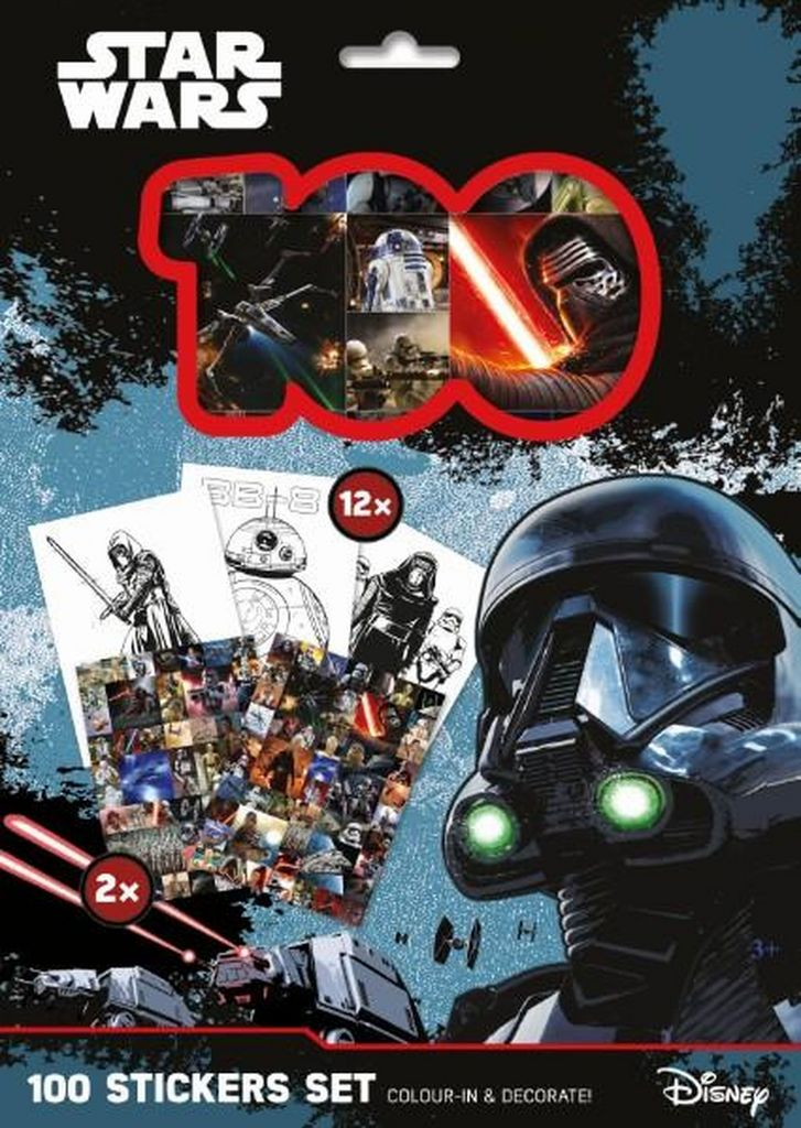 100 Stickers Set Star Wars