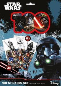 Obrázok 100 Stickers Set Star Wars