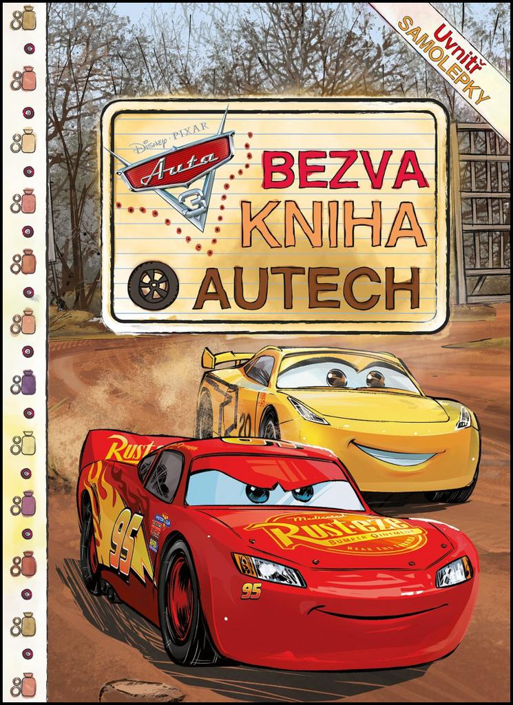 Auta 3 Bezva kniha o autech